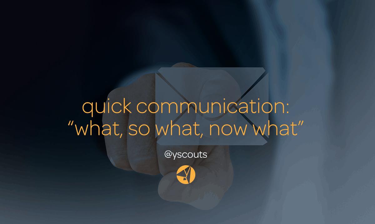 quick communication